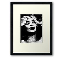 MURDER THEME #01 Framed Print