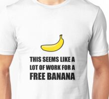 Free Banana Unisex T-Shirt