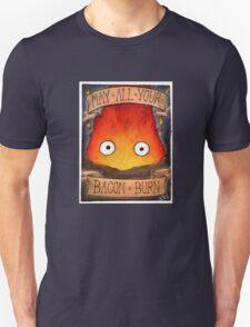 Studio Ghibli Illustration: CALCIFER #2 Unisex T-Shirt