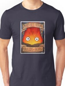 Studio Ghibli Illustration: CALCIFER #2 Unisex T-Shirt