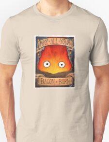 Studio Ghibli Illustration: CALCIFER #2 T-Shirt