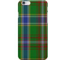 00372 Currie of Arran Clan/Family Tartan  iPhone Case/Skin