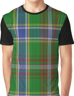00372 Currie of Arran Clan/Family Tartan  Graphic T-Shirt