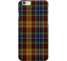 00373 Isle of Arran Tartan  iPhone Case/Skin