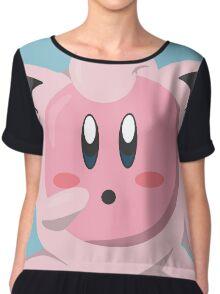 Kirbypuff Chiffon Top