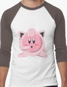 Kirbypuff Men's Baseball ¾ T-Shirt