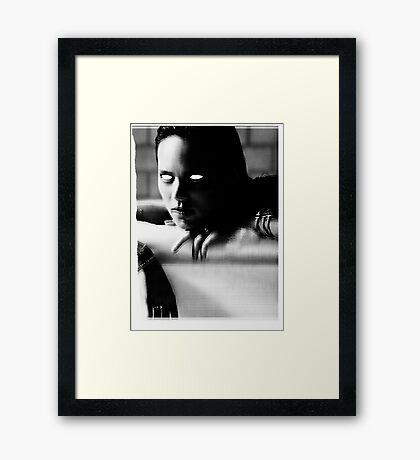 MURDER THEME #10 Framed Print
