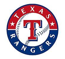 texas rangers Photographic Print