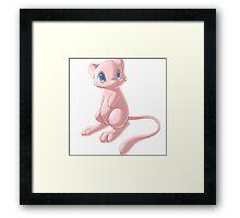 Mew - The Cutest Framed Print