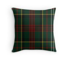 00376 Royal Army of Oman Tartan  Throw Pillow
