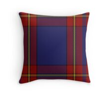 00377 Salvation Army Dress Tartan  Throw Pillow