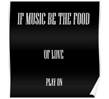 Music is my first love Poster