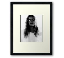 MURDER THEME #19 Framed Print