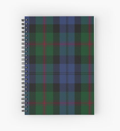 00381 Baird Clan/Family Tartan  Spiral Notebook