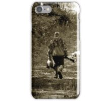 End of morning Duck hunt in Minnesota iPhone Case/Skin