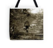 End of morning Duck hunt in Minnesota Tote Bag