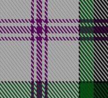 00383 Baird Dress Clan/Family Tartan  Sticker