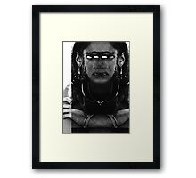 MURDER THEME #21 Framed Print