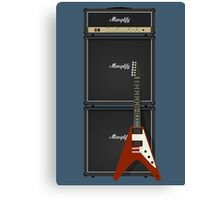 Mamplifier Full-Stack and Flying V Canvas Print