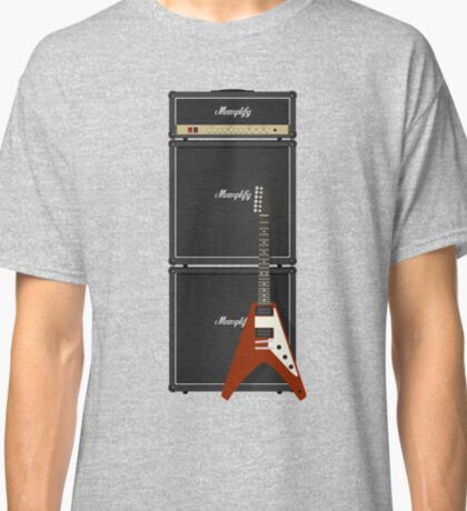 Mamplifier Full-Stack and Flying V Classic T-Shirt