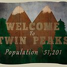 welcome to twin peaks by halfabubble
