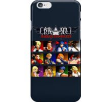 Garou: Mark of the Wolves (Neo Geo) iPhone Case/Skin