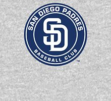 san diego padres Women's Fitted V-Neck T-Shirt