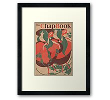 Artist Posters The chap book No 1 the twins 0479 Framed Print