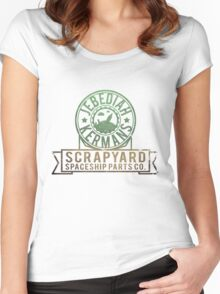 Kerbal Space Program - Jebs Scrapyard Women's Fitted Scoop T-Shirt