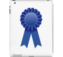 Blue Ribbon iPad Case/Skin