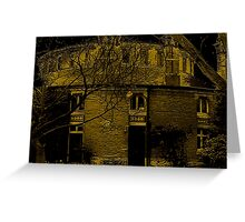 Round Building Of Oldway Mansion Greeting Card