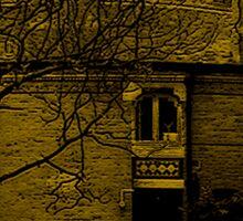 Round Building Of Oldway Mansion Sticker
