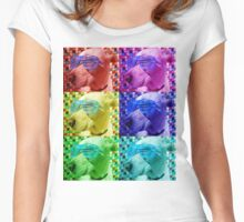 Baxter - The Chill Dog Women's Fitted Scoop T-Shirt