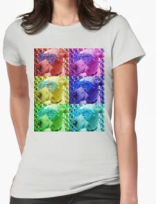 Baxter - The Chill Dog Womens Fitted T-Shirt