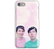 DAN AND PHIL FLOWER CROWNS iPhone Case/Skin