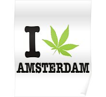 Red Light District T-shirt,i love Amsterdam! Poster
