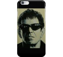 Lou Reed Painting iPhone Case/Skin