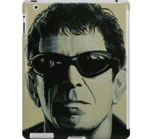 Lou Reed Painting iPad Case/Skin