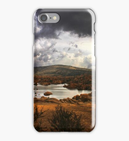 Dells Bench Panorama iPhone Case/Skin