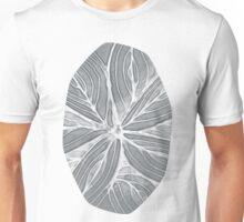 Doodled Aura-Leah DM02 Silver Gray Unisex T-Shirt