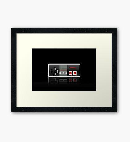 Nes Controller Merchandise! Framed Print