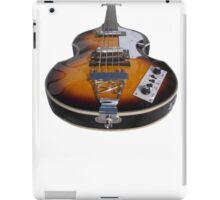 Bass Guitar Violin Beatle Bass iPad Case/Skin