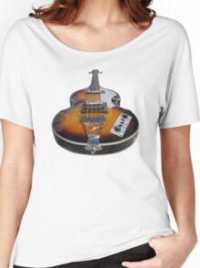 Bass Guitar Violin Beatle Bass Women's Relaxed Fit T-Shirt