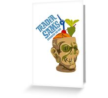 Tiki Bar Greeting Card