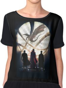 Benedict Cumberbatch 4 iconic characters Chiffon Top
