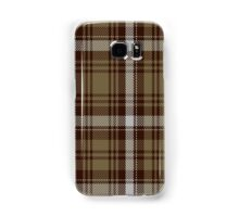 00412 Brown Watch Dress Tartan  Samsung Galaxy Case/Skin