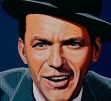Frank Sinatra painting Sticker