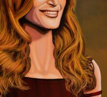 Dalida painting Sticker