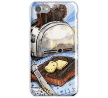 Burnt Toast  iPhone Case/Skin