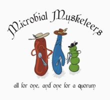 Microbial Musketeers One Piece - Short Sleeve
